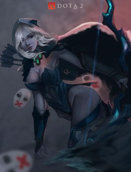 Drow Ranger by Ocetee