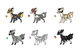 :: Canine Adoptable Auction CLOSED :: by Sonacity