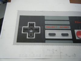 NES Controller Project 3 by devastator006