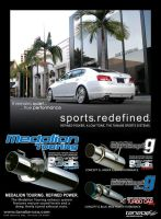 Tanabe Exhaust Ad - GS by dkim1985