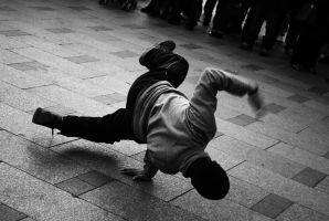 The dancing Bboy by Vincent-CC