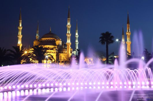 Sultanahmet Mosque by rushofdeath