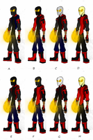 Ty Costume Color Options by SplendorEnt