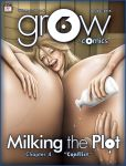 grOw/cOmic#6, issue 4 cover by BustArtist