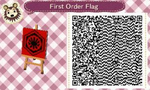 First Order Flag (swtfa) for New Leaf by zoron246