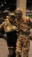 Mummy Costume at Transworld Halloween Tradeshow 1 by GorillaEye