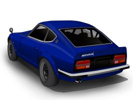 Devil Z -Fairlady Z S30- by JDMAero
