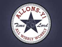 ALLONS-Y! (All Wibbly Wobbly) by TheHalfBloodPierrot