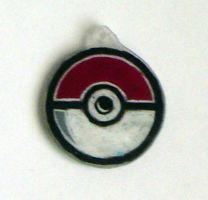 Fangirl Charms- Pokeball by Isilian