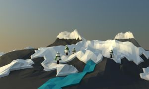 Lowpoly Mountains by Schmerpix