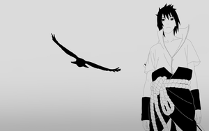 Sasuke-Destiny-Wallpaper by Simply-The-Frankie
