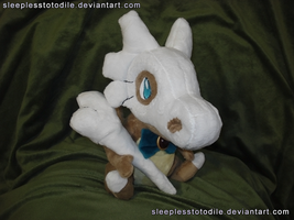 Chex Plush (Prize for PMDe) by SleeplessTotodile