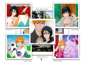 Kurosaki Family - Photo Album by Kotik-Stells