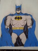 ~Random Sketches  /  Colored Pencils~ Batman ! by Blancoart89