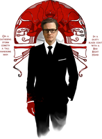 Red Right Hand :: Colin Firth by erebus-odora