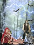 Little Red Riding Hood by lobamia