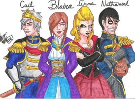 My Heroes Of Albion by LlovesHalo