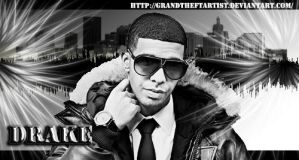 Drake the Rapper by VickiBeWicked