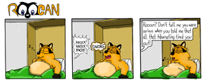 Roocan Strip 111 Coloured by BrunoMeles