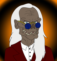 Crypt Keeper Portrait by Cavity-Sam