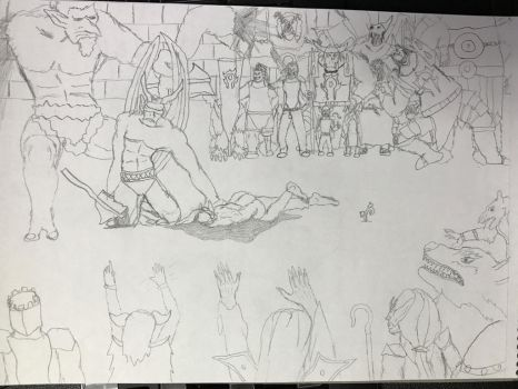 Keep duel intro sketch + story by Ihsan997