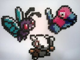 Fuse Bead Pokemon set 4 by ProbonoBear