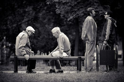 chess players by JunKarlo