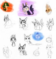 Sketches for PMD by Chardarble