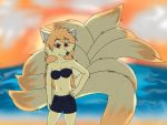 Ninetales By The Shore by danirap