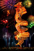 DANCE WITH THE FIRE DRAGON by SAMLIM