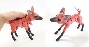 Maned Wolf BJD 05 by vonBorowsky
