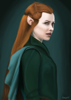 Tauriel by kamyeol