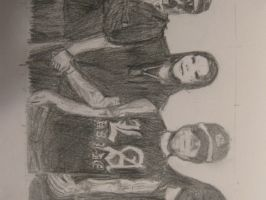 Hollywood Undead by chitraah