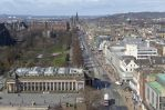 Princes Street from Scott Monument by bobswin