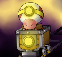 Captain Toad by ice-cream-skies