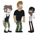 an attempt at Gravity falls style by SpiderRen