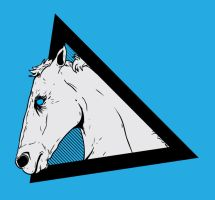 Horse Head Design by Karbacca