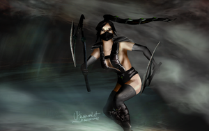 BlackScorpion-Akali by ULTRAZEALOt