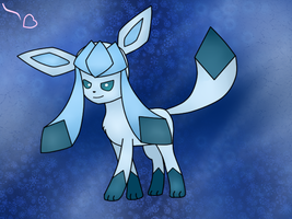 Glaceon by princesspeach456