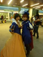 Fanime 2013 Snow White and Prince Charming by Speedway66