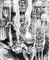 Kerberos, Guardian of Hell by philippeL