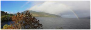 Loch Ness Rainbow by globalsinner