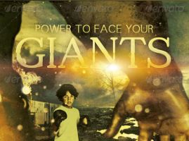 Face Your Giants Church Flyer and CD Template by loswl