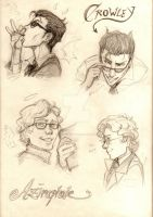 Good Omens by AurelGweillys