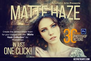 Matte Haze Photoshop Actions by saimon420