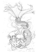 Water Dragons by camilladerrico