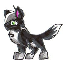 DP wolf pup by Hades-O-Bannon