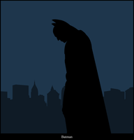 Batman Vector by Namelessv1