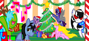 Christmas Celebration 2011 by LadyFoxling