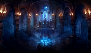 The Throne Room by znodden